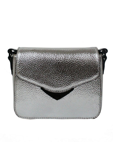 LIMELIGHT CITY MINI CROSSBODY IN SILVER