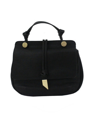 New Dione Saddle Bag in Black