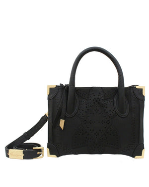 Sedona Sunset Frankie Satchel Petite in Black