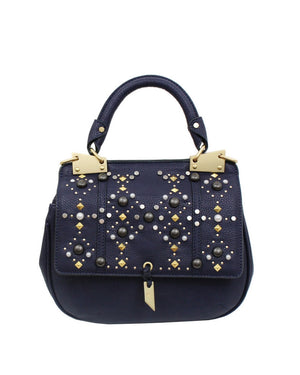 STARGAZER DIONE SADDLE BAG IN MIDNIGHT BLUE