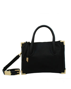Frankie Satchel Petite in Black