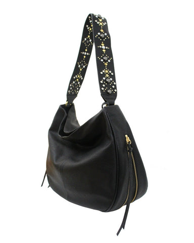 STARGAZER AVERY HOBO IN BLACK