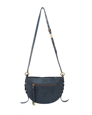 Wildheart Crescent Crossbody in Blue Infinity