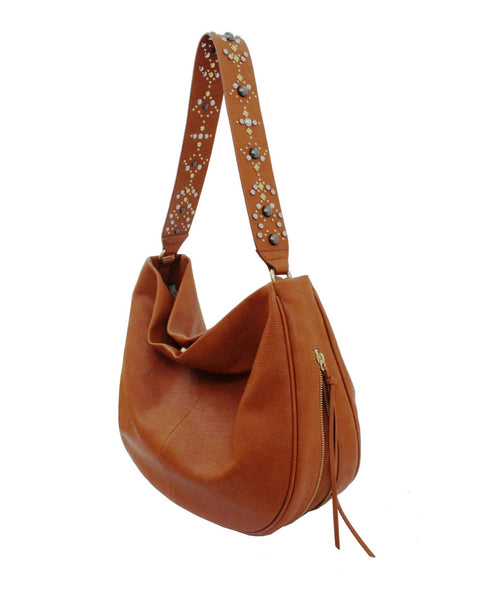 STARGAZER AVERY HOBO IN HONEY BROWN