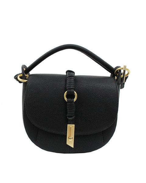 VICTORIA SADDLE BAG IN BLACK