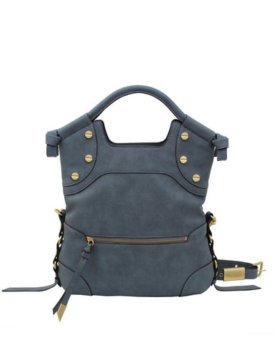 WILDHEART FC LADY TOTE IN BLUE INFINITY