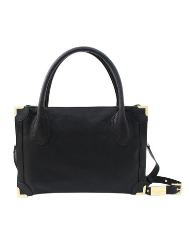 FRANKIE SATCHEL IN BLACK