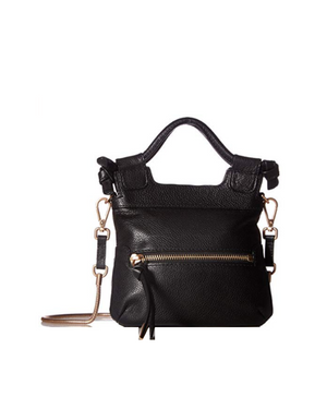 Tiny City Crossbody in Black