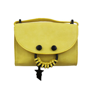Blake E/W Crossbody in Lemon