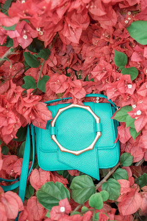 Joni Crossbody in Peacock