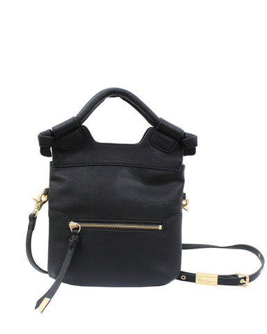 DISCO CITY LIBERATED LEATHER CROSSBODY