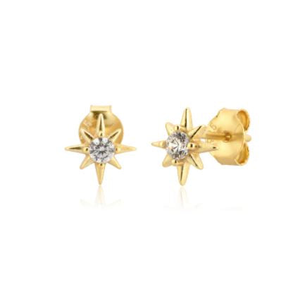 Barney Stud Earrings