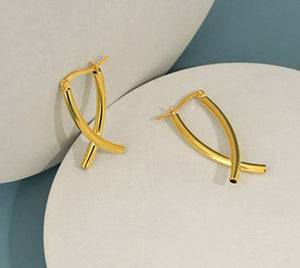 Barry Hoop Earrings