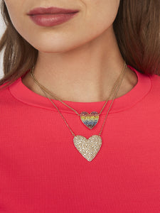 Cintia Heart Pendant Necklace