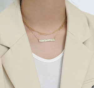 Sky Link Chain Necklace