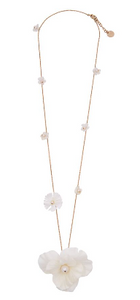 White Alwine Necklace
