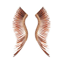 Load image into Gallery viewer, madeline earrings metallic rosegold