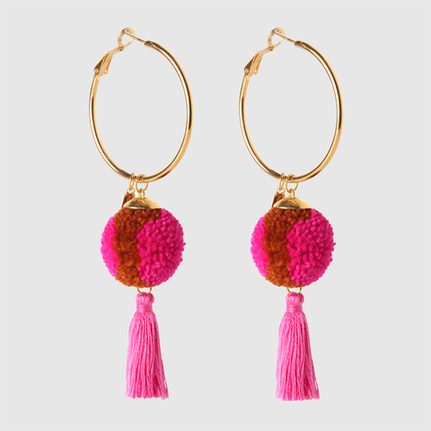 Mini Elle Hoop Earrings