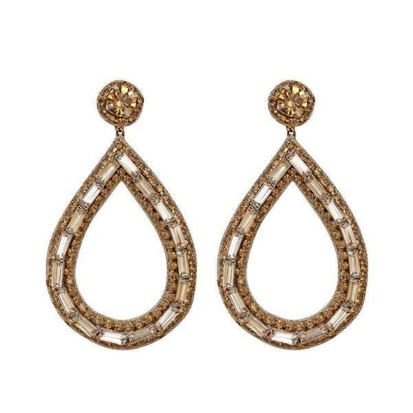 Ayesha Drop Earrings by Deepa Gurnani
