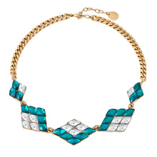 Load image into Gallery viewer, Multi Diamond Statement Necklace