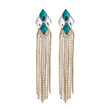 Load image into Gallery viewer, Cascade diamond earrings