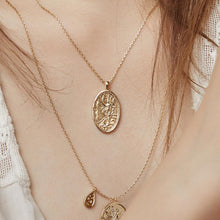 Load image into Gallery viewer, Iris Goddess Necklace
