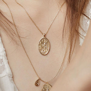 Iris Goddess Necklace