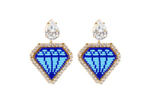 Load image into Gallery viewer, Emoji  Bling Diamond Earring