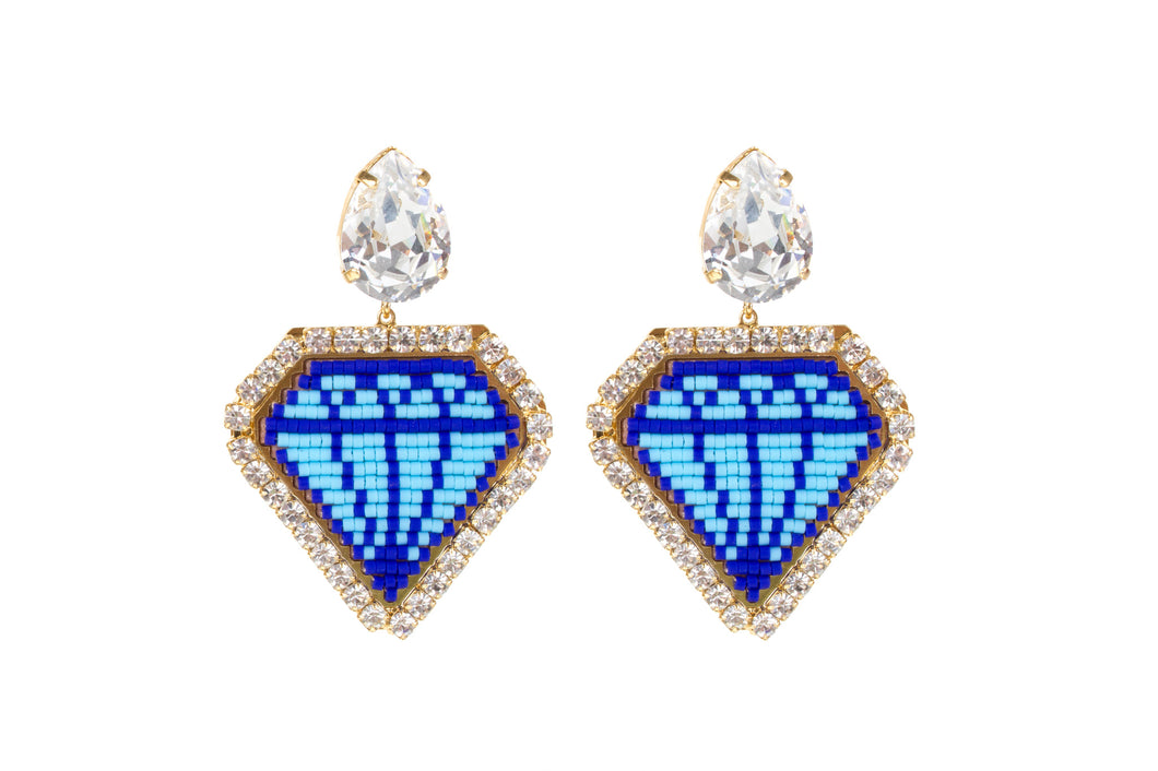 Emoji  Bling Diamond Earring