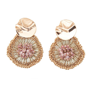 mily earrings pink