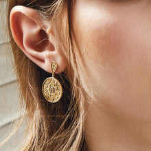 Load image into Gallery viewer, Orbit Gold Earrings