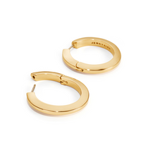 Load image into Gallery viewer, Toni Hinged Hoop Earrings