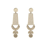 Lilia Gold & Ivory Earrings