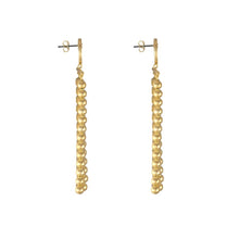 Load image into Gallery viewer, Luna Gold Drop Earrings