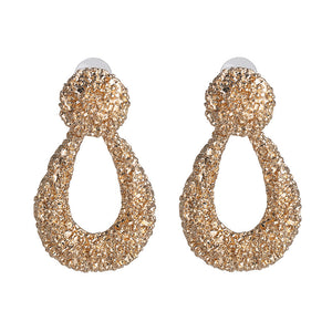 Retro Gold Earrings