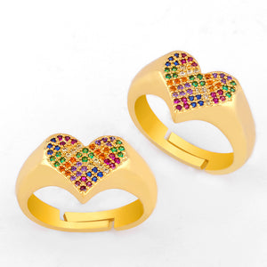Love Rainbow Ring