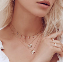 Load image into Gallery viewer, CZ Baguette Choker