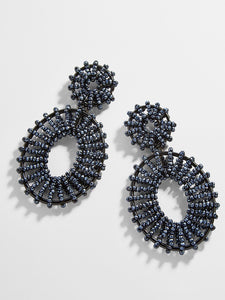 Beaded Kiera Drop Earrings