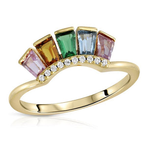 Modern Love Crown Ring