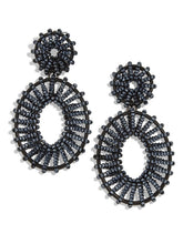 Load image into Gallery viewer, Beaded Kiera Drop Earrings