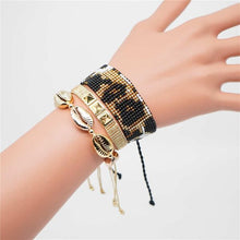 Load image into Gallery viewer, Animal Print MIyuki Bracelet