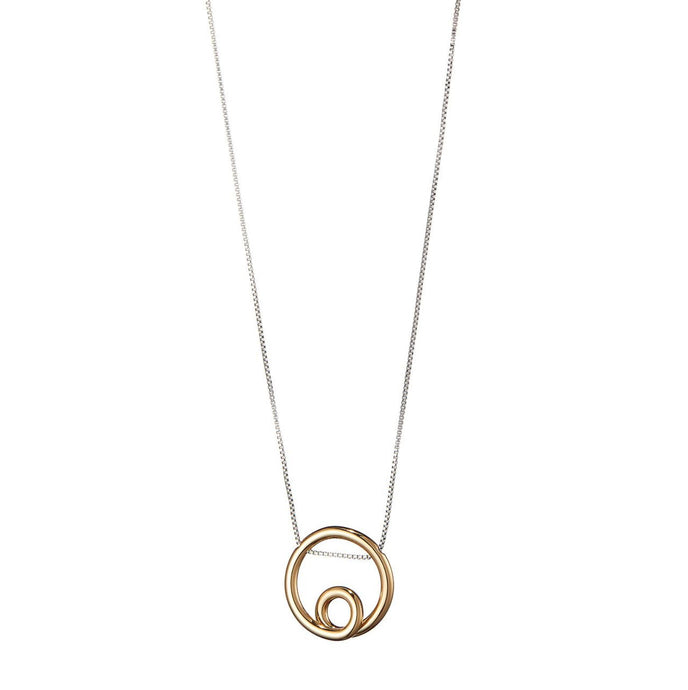 Mini Loop Pendant Necklace