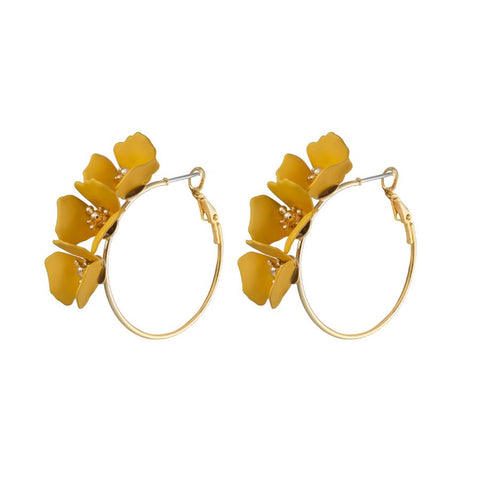 Meadow Hoop Earrings