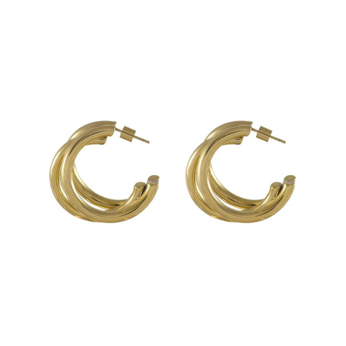 Faye Tri-Hoop Earrings