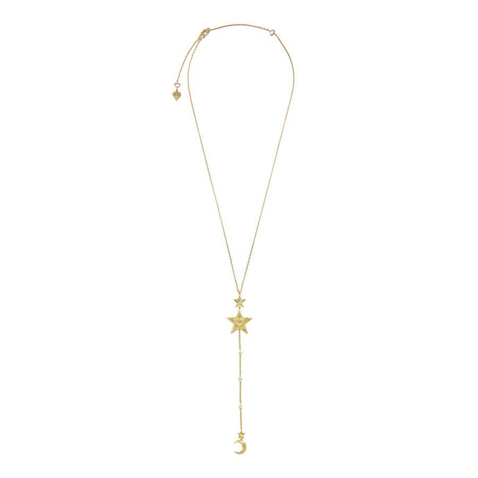 Stella Gold Lariat Necklace