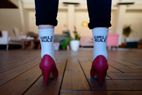 slogan socks dont have to be rude