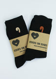 cocks on socks bamboo socks for men