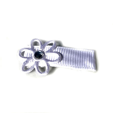 Daisy Pearl Clip - Boutique Wedding Collection - Baby Hair UK