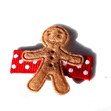 Gingerbread Man - Christmas Collection - Baby Hair UK