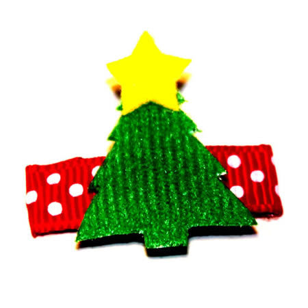 Green Christmas Tree - Christmas Collection - Baby Hair UK